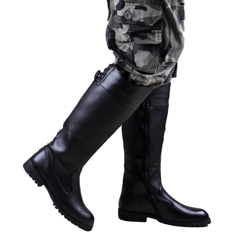 Popular Mens Black Military Boots-Buy Cheap Mens Black Military ...