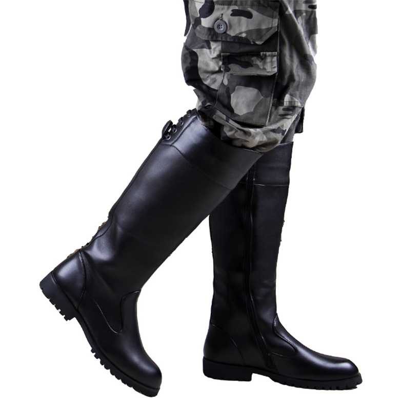 Popular Knee High Boots Men-Buy Cheap Knee High Boots Men lots ...