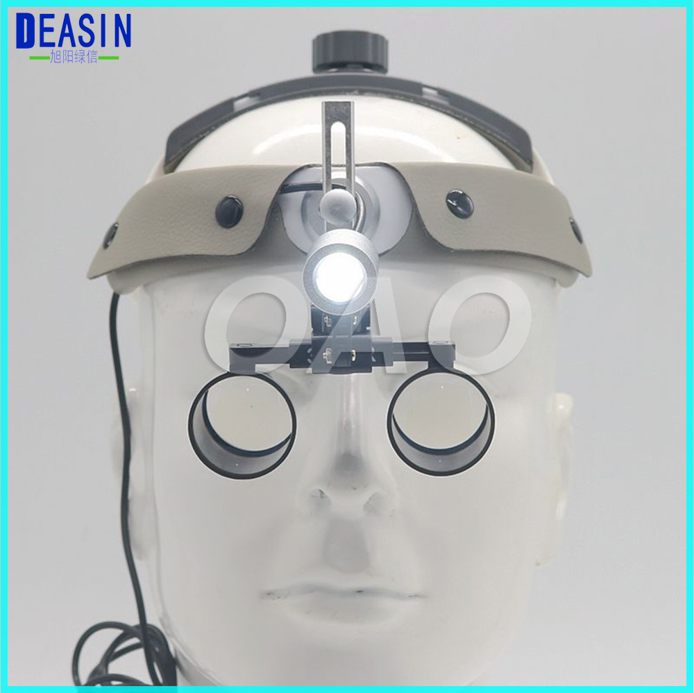 2.5X and 3.5X Dentist Dental Surgical Medical Binocular Loupes Magnifying Glass dental loupes surgeon operation with light image