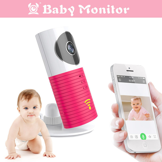 Mini Wireless Wifi Baby Monitor With Camera Infant Clever Dog Video Security Two Way