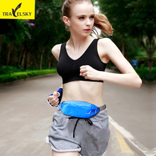 Sport Waist bag Waterpoof Nylon veszi a telefon hitelkártyák változása futó sport divat mellkasi zseb táska 5colors 16505