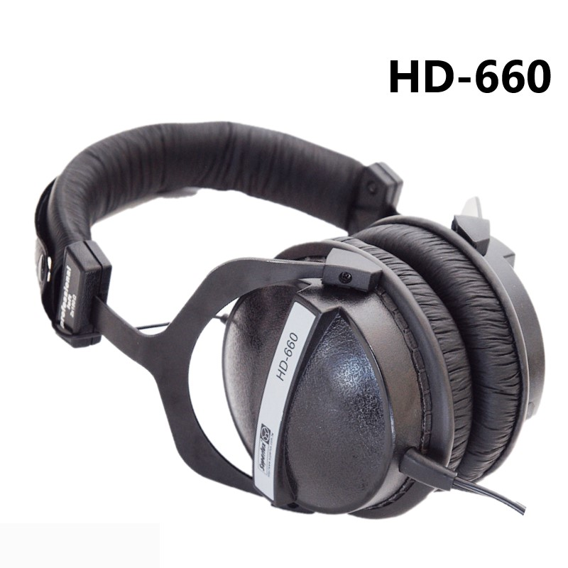 Superlux HD660 Professional Monitoring Music Headphones Noise Canceling Clear Sound Soft Earmuff Headset Good Sound