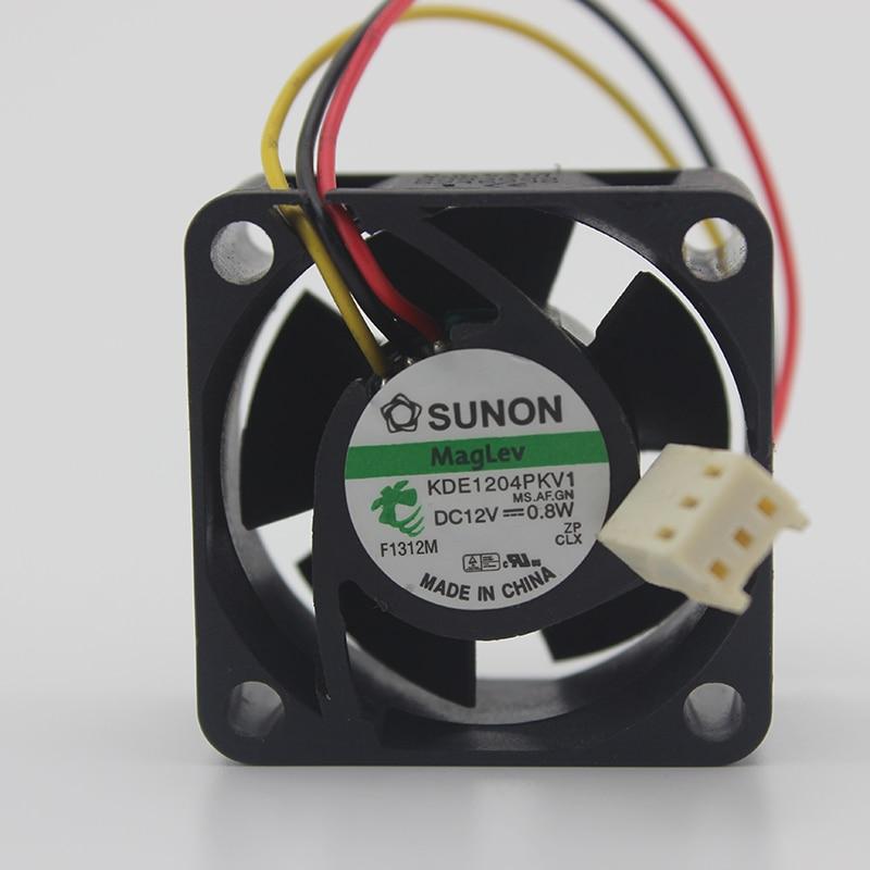 SUNON KDE1204PKV1 4020 4cm DC 12V 0.8W Ultra-quiet Switch Cooling Fan