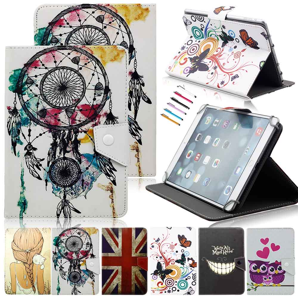 8 Universal PU Leather Stand Protector Cover Case Skin For 8 Inch tablet PC