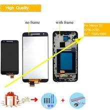 5.2 ORIGINAL Display for LG Google Nexus 5X LCD Touch Screen with Frame for LG Nexus 5X LCD Display Replacement H790 H791 LCD original 4 95 display for lg nexus 5 lcd touch screen digitizer assembly for lg nexus 5 display d820 d821 screen replacement