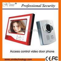 Red Color Nice Design 7 TFT LCD Night Version Video Door Phone Video Door Bell Video