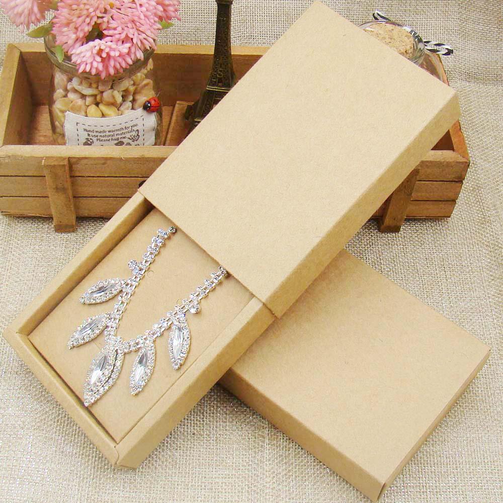 48pcs 4531510inch kraft paper jewelry display box