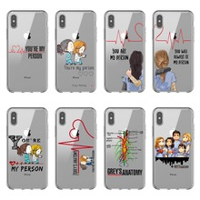 Greys Anatomy You are my person Soft silicon TPU Phone Cases Cover For iPhone 11 Pro MAX 2019 5 5S 6 6SPlus 7 8Plus X XR XS MAX greys anatomy you are my person transparent soft tpu silicone phone cases cover for huawei ascend p8 p9 p10 p20lite p10 p20plus