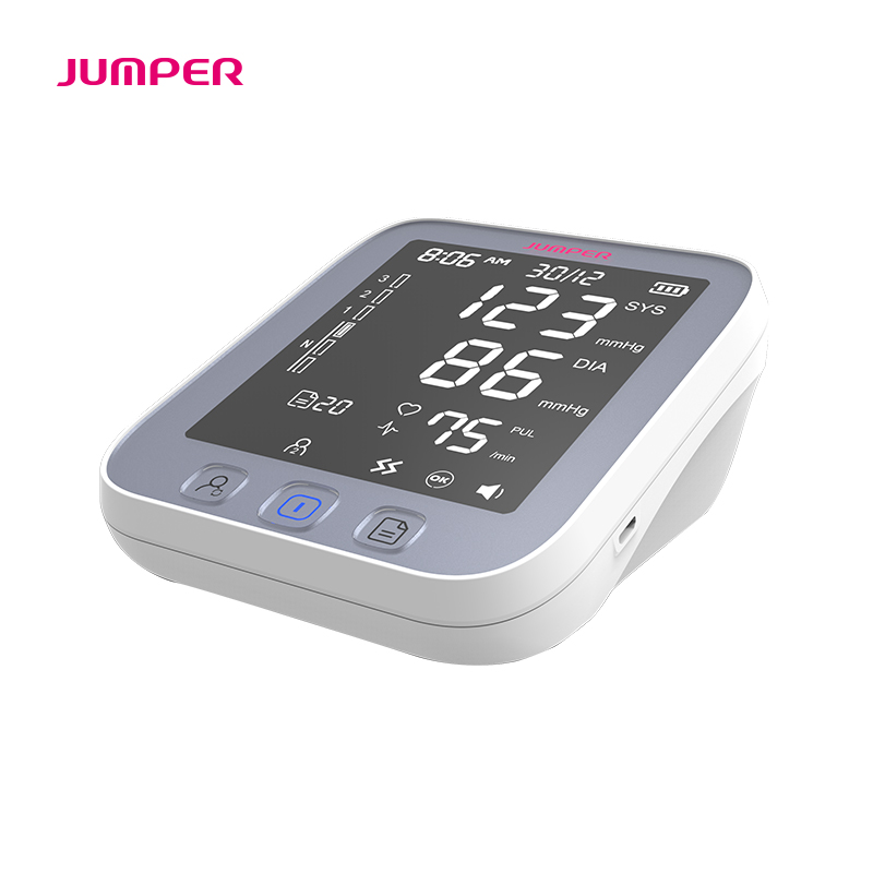 Image 3 - Home health care Blood Pressure Monitor Pulse measurement tool Portable Large LCD digital Upper Arm Tonometer Cuff Max 42cm-in Blood Pressure from Beauty & Health