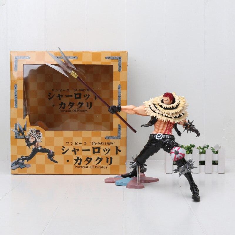 Anime One Piece Portrait of Pirates Figure Charlotte Katakuri SA MAXIMUM Action Figures Toy Doll Figurine