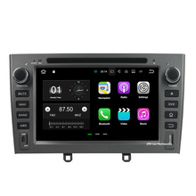 "Android 7.1.2 2GB RAM 32GB ROM Quad Core Car DVD Radio GPS Multimedia Player 2 Din 7"" headunit Player For Peugeot 408 2007-2010"