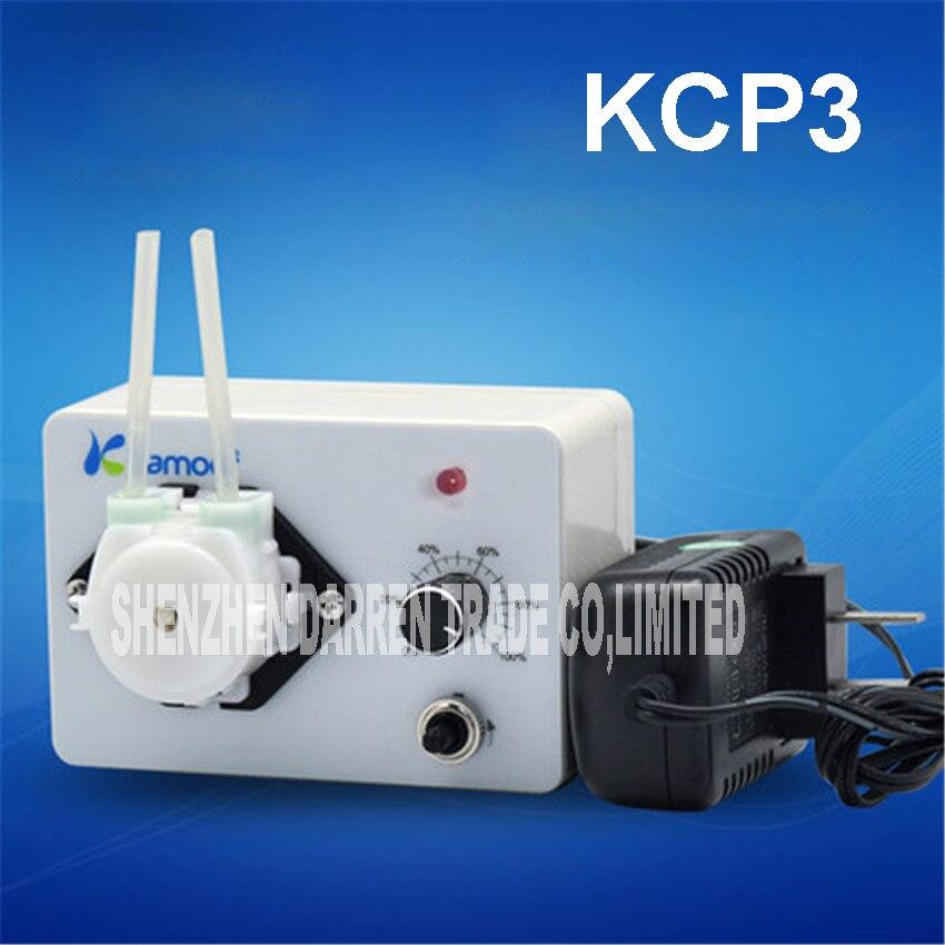 ФОТО 20pcs  KCP3  small peristaltic pump with  24 V stepper motor aluminum alloy