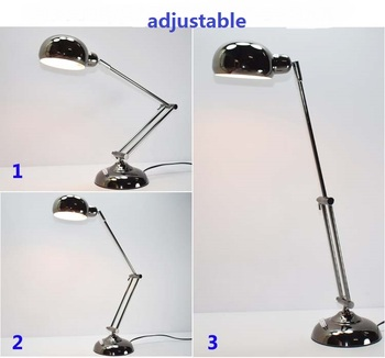 style iron table lamps study office work computer children dormitory eye care reading learning desk lamp FG884