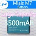 Mlais Bateria M7 100% New Original 3500 mAh Bateria de backup Bateria Para Mlais M7 M7 Smartphone mais