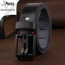 [DWST] 2019 رجل فاخر حزام جلد رجل أحزمة cinturones hombre دبوس مشبك ceinture الذكور الأعمال مصمم أحزمة الرجال جودة