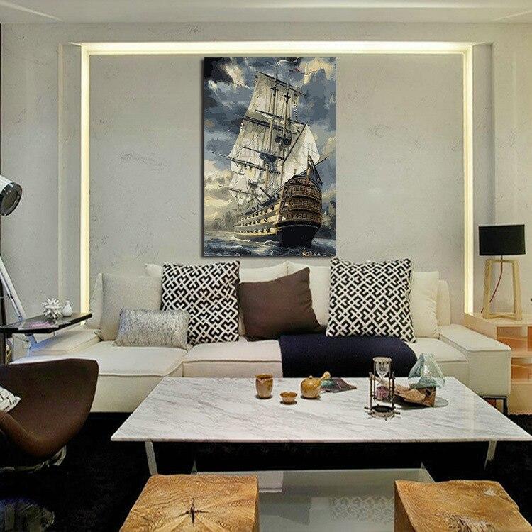 Υψηλής ποιότητας σύγχρονη καμβά - Διακόσμηση σπιτιού - Φωτογραφία 2