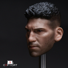 Toy Head Carvings for 12 Male Body Headply Toys Copycat 1/6 Scale Punisher Daredevil Head Sculpt for 12''Male Action Figure mnotht black male soldier head carvings model wild curl up 1 6 scale smile kobe head sculpt toys for 12in action figures m3
