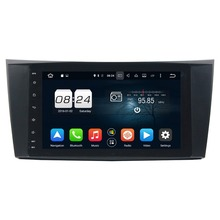 Octa Core 8″ Android 6.0 Car Audio DVD GPS for Mercedes Benz E-Class W211 CLS W219 G-Class W463 2GB RAM 32GB ROM USB Mirror-link