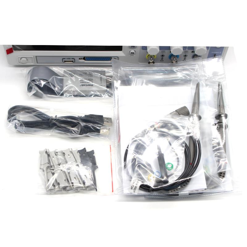 Hantek MSO5202D Digital Oscilloscope USB 200Mhz 2 Channels Hantek Osciloscopio +16Channels Logic Analyzer + External Trigger (4)