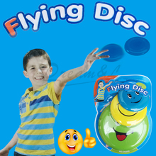 2016 New arrival Flying Disk Frisbee Early Learning&Education Kid Outdoor Fun Sport Baby/Kid/Boy toys Flying Disc Best gift/3pcs