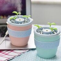 New Cartoon Bear USB Air Humidifier Mini Essential Oil Aroma Diffuser Home Office SPA Mist Maker