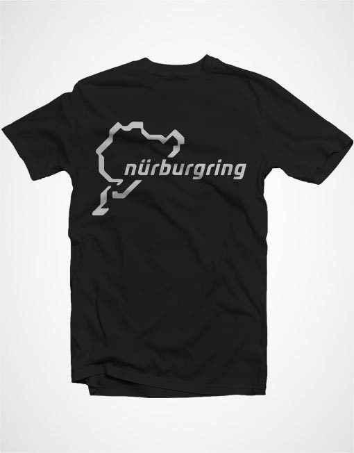 Nurburgring Nordschleife Логотип Гонки Мотоспорт Мужская футболка 100% хлопок футболка хип хоп забавная футболка, мужские футболки