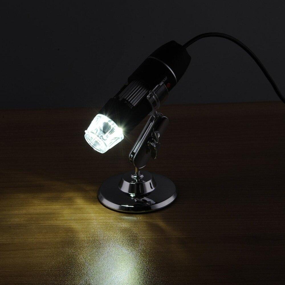 8 LED USB цифровой микроскоп 500X 1000X 1600X эндоскоп камера микроскопио Лупа электронный монокулярный микроскоп с подставкой