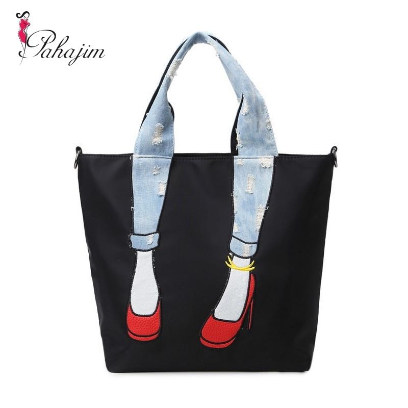 Pahajim New High Heels Leg Bag Water-Proof Oxford Cloth Women Bag Multi-Purpose Women Messenger Bags Bolsa