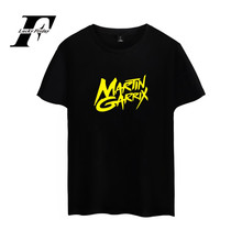 LUCKYFRIDAYF Martin Garrix Shirt DJ Music Hot Selling Summer Soft Cotton Mens Tshirts Big Sizes High Quality Tees 4XL Casual