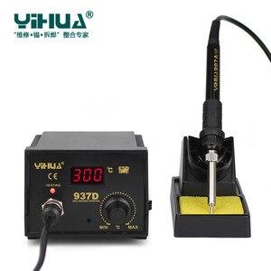 Image 3 - 220V/110V 50W Temperature Control ESD Digital Soldering Station / Rework Stations YIHUA 937D with EU/US plug