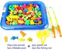 Juguetes Pesca Magnética De Madera Casa Para 2 Rompecabezas Bonito Varillas Juguete Educativo Juego Regalo Niños Con OPiwkuTXZl
