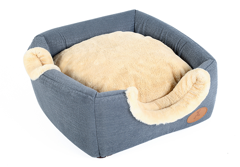 Hoopet New Washable Pets Cat House Cozy Cave Warm Soft Cave Bed Portable Hammock Sleeping Bed for Cat All Seasons (9)