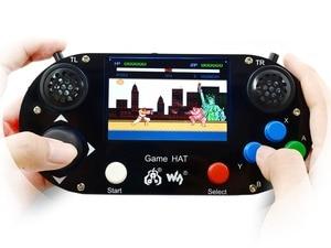 Image 2 - Waveshare Video Spiel Konsole Entwicklung Kit G Raspberry Pi 3 Modell B + Micro 16GB Sd karte Unterstützt Recalbox /Retropie
