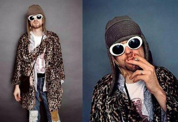 HTB1QG9KPXXXXXXHapXXq6xXFXXXv - Kurt Cobain Star Style Sunglasses Men Women Retro Sun Glasses 16 Colors PTC 200