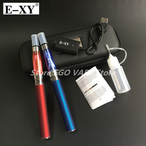 Image 5 - E XY Electronic Cigarette CE4 Double Starter Kits Zipper Carry Case 1100mAh eGo Kit 1.6ml Ce4 Atomizer E Cigarette Zipper Kit