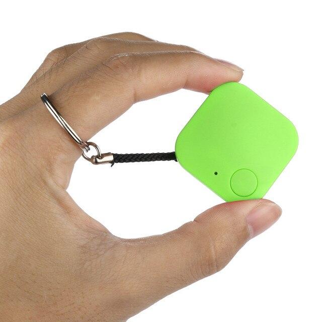 Animaux de compagnie Smart Mini GPS Tracker Anti-perte étanche Bluetooth traceur avec corde suspendue clés portefeuille sac enfants Finder équipement #30