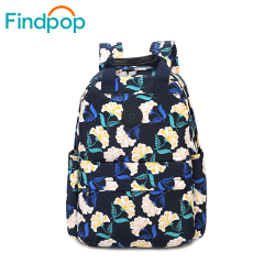 Findpop floral backpack 2017 waterproof printing backpack women bags fashion casual canvas backpack large capacity school.jpg 250x250