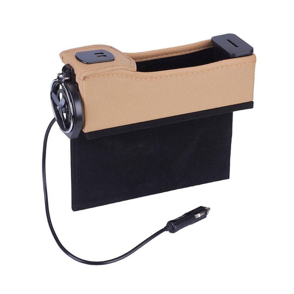 Premium PU cuir côté organisateur de poche siège de voiture remplissage espace boîte de rangement bouteille support de verre Coin collecteur voiture intérieur Acc