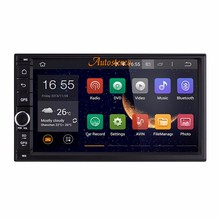 7 INCH 178*100 Android 6.0 GPS Navigation System Autoradio Multimedia Video For Universal Car Radio