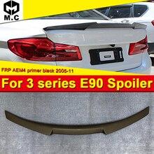 For BMW E90 M3 sedan duckbill FRP Unpainted M4 style 3 series 320i 325i 330i 335i 320d 325d wing rear spoilers M look 2005-2011 цены онлайн