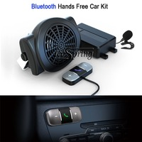 Bluetooth Hands Free Car Kit suitable all types vehicle External Mic Auto Connect With Speaker Support 2 phones