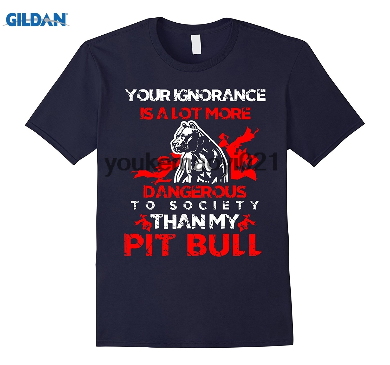 Возьмите невежество опаснее чем мой питбуль смешные футболки