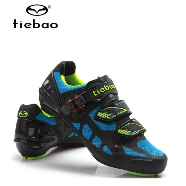 Sapatilha Ciclismo Tiebao Sapatos de Ciclismo fora de Estrada Corrida De Bicicleta Sapatos zapatillas deportivas hombre Ciclo as Sapatilhas das mulheres dos homens