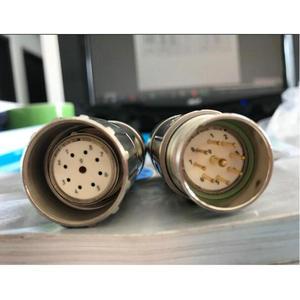 Бесплатная доставка металлический штыревой и гнездовой 9 Pin 9 ядер разъем кодера для B + F кодер heidenhain