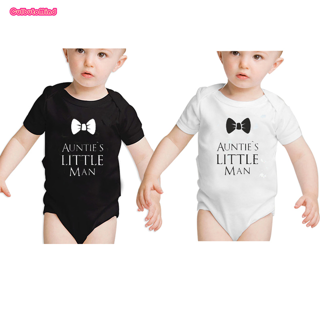 7665cc0de3951 US $20.0  Culbutomind Aunt and Nephew, Aunt Baby Clothes Twins Baby Clothes  Bodysuit AUNTIE'S LITTLE Man One Piece, Best Auntie Ever-in Bodysuits from  ...