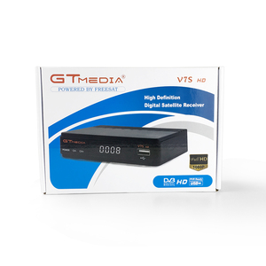 Image 2 - DVB S2 استقبال الأقمار الصناعية أوروبا فك GTMedia V7S HD استقبال الأقمار الصناعية الرقمية DVB S2 V7S 1080P USB واي فاي ترقية Freesat V7