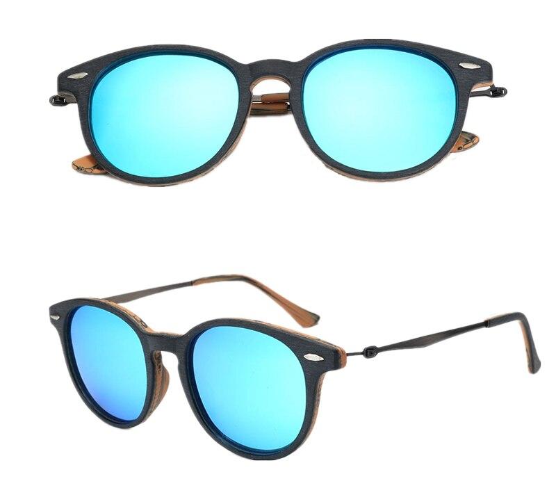 New Wood Acetate Unisex Polarized Sunglass