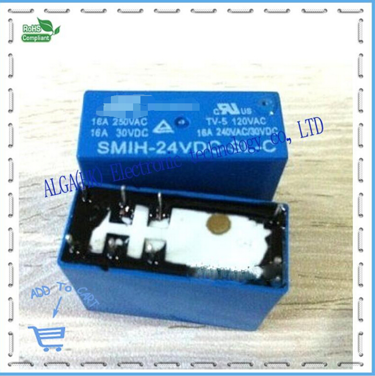 SMIH - 24 V - SL - C pine le relay 24 v 16 a 250 v is a set of 8 feet conversion quality goods on sale