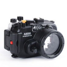 В Наличии! Meikon Водонепроницаемый Подводный Корпус для Камеры Сумка для Sony A6000