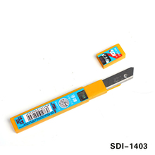 SDI brand 60 degree High-carbon steel Knife Replacement Blade 9mm 10-Blades/Pack MX-1403
